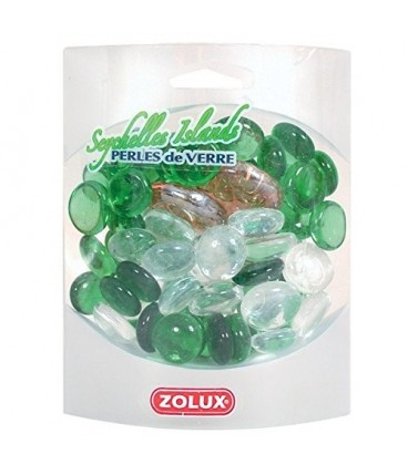 Zolux perle di vetro colori assortiti Seychelles Islands 420 G