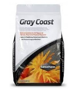 Seachem Sabbia Calcite Gray Coast per acquari marini kg 3,5