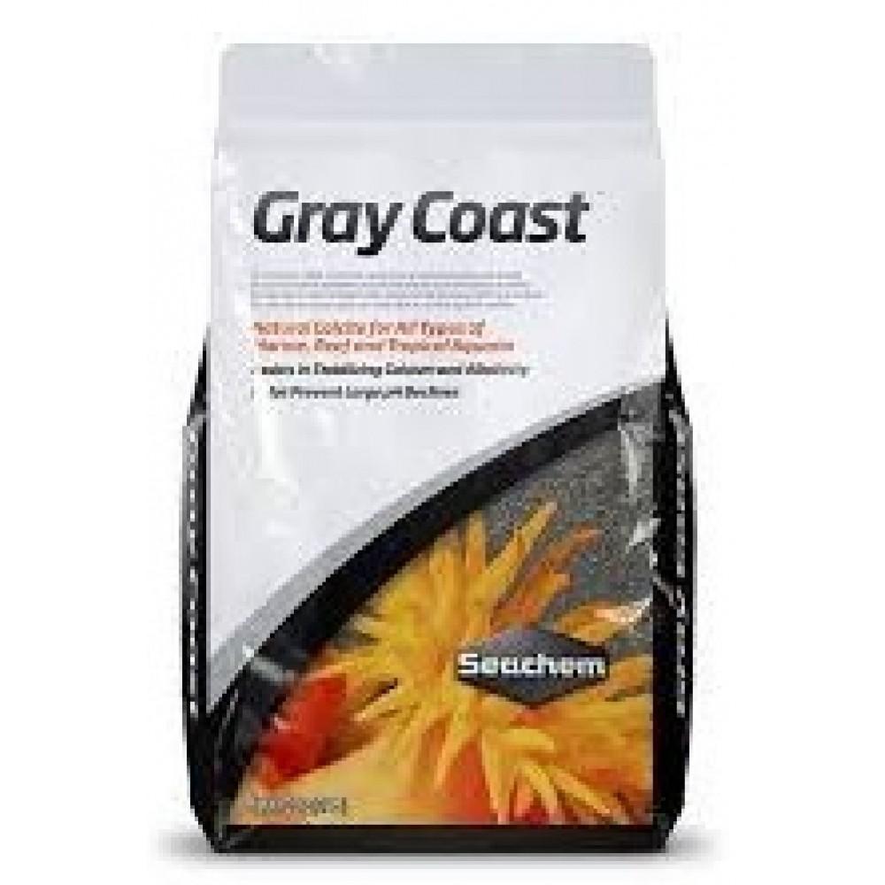 Seachem sabbia calcite gray coast per acquari marini kg 3 5 for Acquari marini offerte