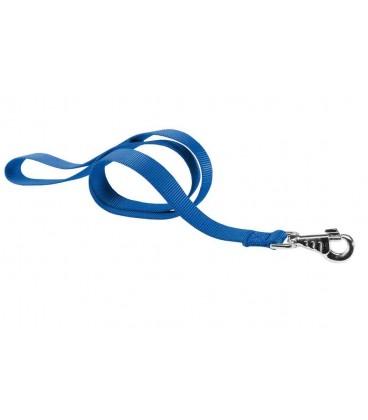 Giumar Guinzaglio naylon felpato larg.0,20 cm x lung.1.2 mt blu