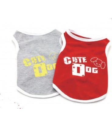 """Giumer Canottiera """"CUTE DOG"""" Small"""