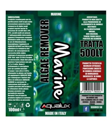 Aqualux Alghe marine con Lps/Sps 100 ml