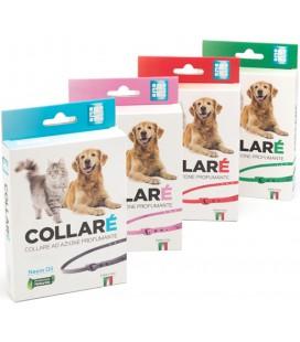 Ahp Collare ad azione profumante con olio di neem fragranza erbacea per cane e gatto