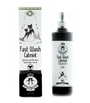 Aromiere Cat Fast wash catmint liquido per pulizia gatto a secco 250 ml