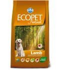 Farmina Ecopet Natural Lamb medium formati 2.50KG e 12.KG