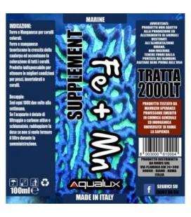 Aqualux Marine FE + MN 100 ml per 2000 litri