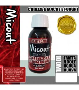 AQUALUX MICOUT 100 ML FRESH WATHER TRATTA 500 LITRI D'ACQUA (CONTRO CHIAZZE BIANCHE E FUNGHI)