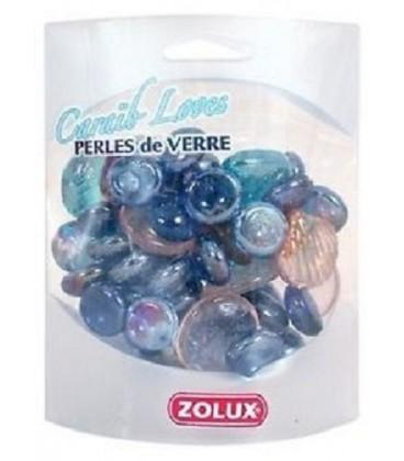 Zolux Caraib loves perle di vetro colorato 400 gr