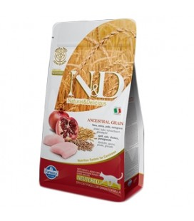 Farmina N&D Low Grain Cat Neutered Pollo&Melograno 300 G