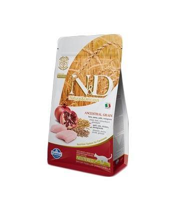 Farmina N&D Low Grain Cat Neutered Pollo&Melograno 300 G