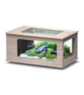 Aquatlantis Aquatable led 100x63cm (Colore : Noce)