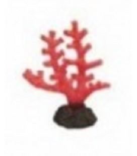 Giumar decorazione in resina corallo rosso 15x7x13 cm