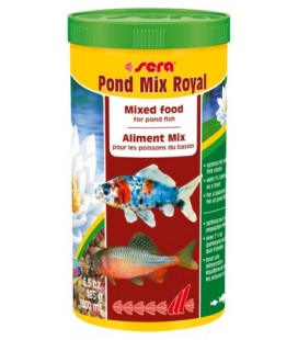 Sera Pond Mix Royal Scaglie e Sticks 1000 ml 185 g