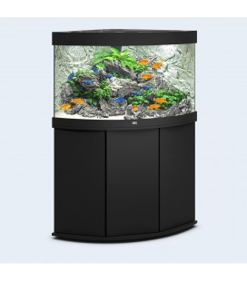 Juwel Acquario Trigon 190 Nero con supporto (Nuovo Modello Illuminazione Led)