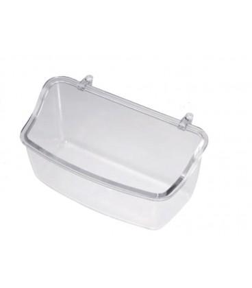 Mangiatoia trasparente Stella ganci in plastica
