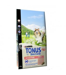 Purina tonus dog chow sensitive adult salmone2.5 kg
