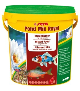 Sera Pond mix royal scaglie e sticks 10 LT