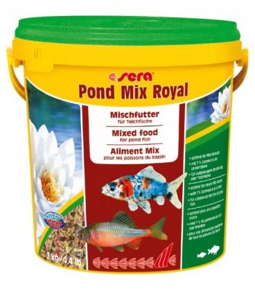 SERA POND MIX ROYAL SCAGLIE E STICKS 10 litri