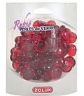 Zolux perle di vetro rubin rosso 390 gr