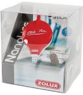 Zoolux StickAir areatore Rosso (completo - accessoriato)