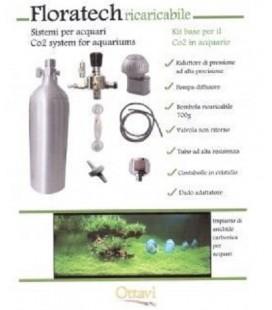 Ottavi Floratech sistema - impianto completo co2 con bombola da 500gr