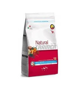 Trainer Natural Adult Medium con tonno riso alga spirulina 3 kg