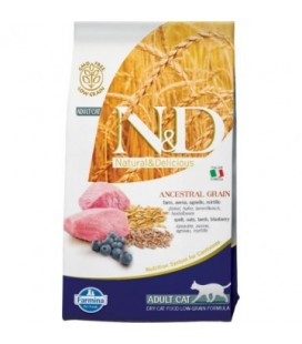 Farmina N&D Low Grain Feline Adult Agnello e Mirtillo 1,5 kg