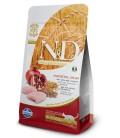 Farmina n&d low grain gatto neutered farro avena pollo melograno 1,5 kg