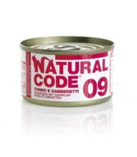 Natural Line Code gatto 09 tonno e gamberetti gr 85