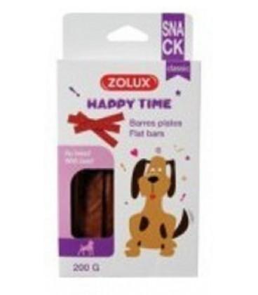 Zolux Happy Time barrette piatte con carne di manzo 200 gr