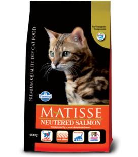 Farmina Matisse Neutered al salmone Crocchette 400 gr
