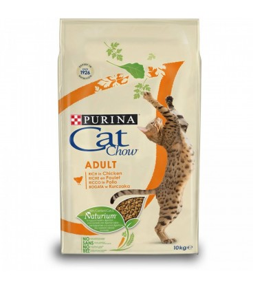 Purina Tonus Cat Chow Adult al Pollo da 1.5 Kg