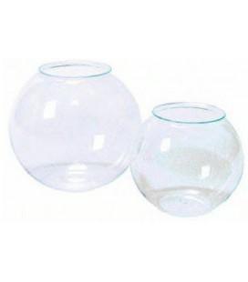 Acquario boccia in plastica con panorama diametro 20 cm