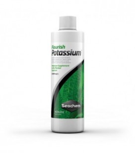 Seachem Flourish Potassium 100 ml (Fertilizzante liquido a base di potassio per piante)