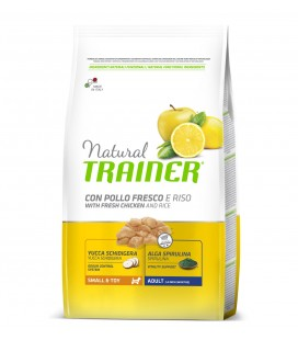 Trainer Natural Dog Mini & Toy Adult Pollo e Riso 800 gr