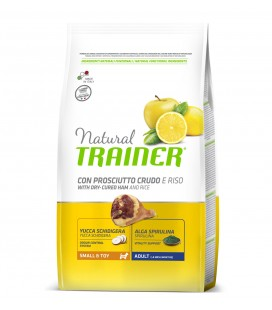 Trainer Natural Dog Mini & Toy Adult Prosciutto Crudo e Riso 800 gr