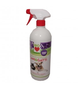 BIO LOVE DISABITUANTE ECOLOGICO CANI E GATTI SPRAY 750 ML LAVANDA