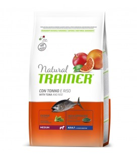 Trainer Natural Dog Medium Adult pesce,riso e alga 3 kg