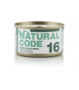 Natural Line Code gatto 16 carne bianca palamita gr 85