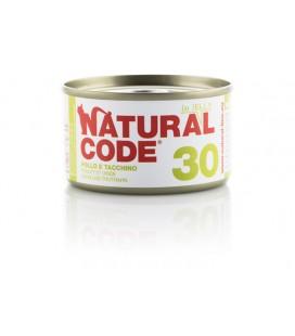 Natural Line Code gatto 30 pollo tacchino jelly gr 85
