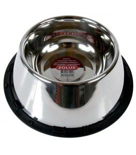 Zolux ciotola in acciaio antiscivolo speciale coker diam.25 cm