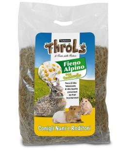 Nutrena Throls fieno d'alpe con camomilla 500 gr per conigli nani e roditori.