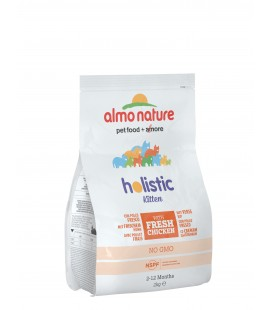 ALMO NATURE HOLISTIC KITTEN POLLO E RISO 2 KG