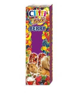 Cliffi sticks per criceti e scoiattoli ai frutti di bosco e miele 110 gr