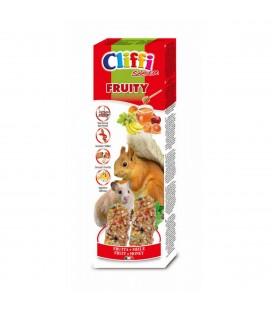 Cliffi sticks per criceti e scoiattoli con frutta e miele 110 gr