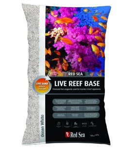 Red Sea Live reef base ocean White - kg 10 (Sabbia ViVa Super Fina di colore Bianca)