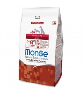 MONGE CANE MINI ADULT AGNELLO RISO E PATATE gr.800