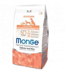 MONGE CANE ALL BREED PUPPY SALMONE RISO 2,5 KG