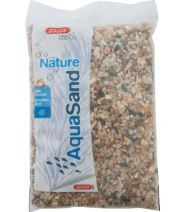ZOLUX AQUASAND QUARZO NATURALE 5 KG - 2/5MM
